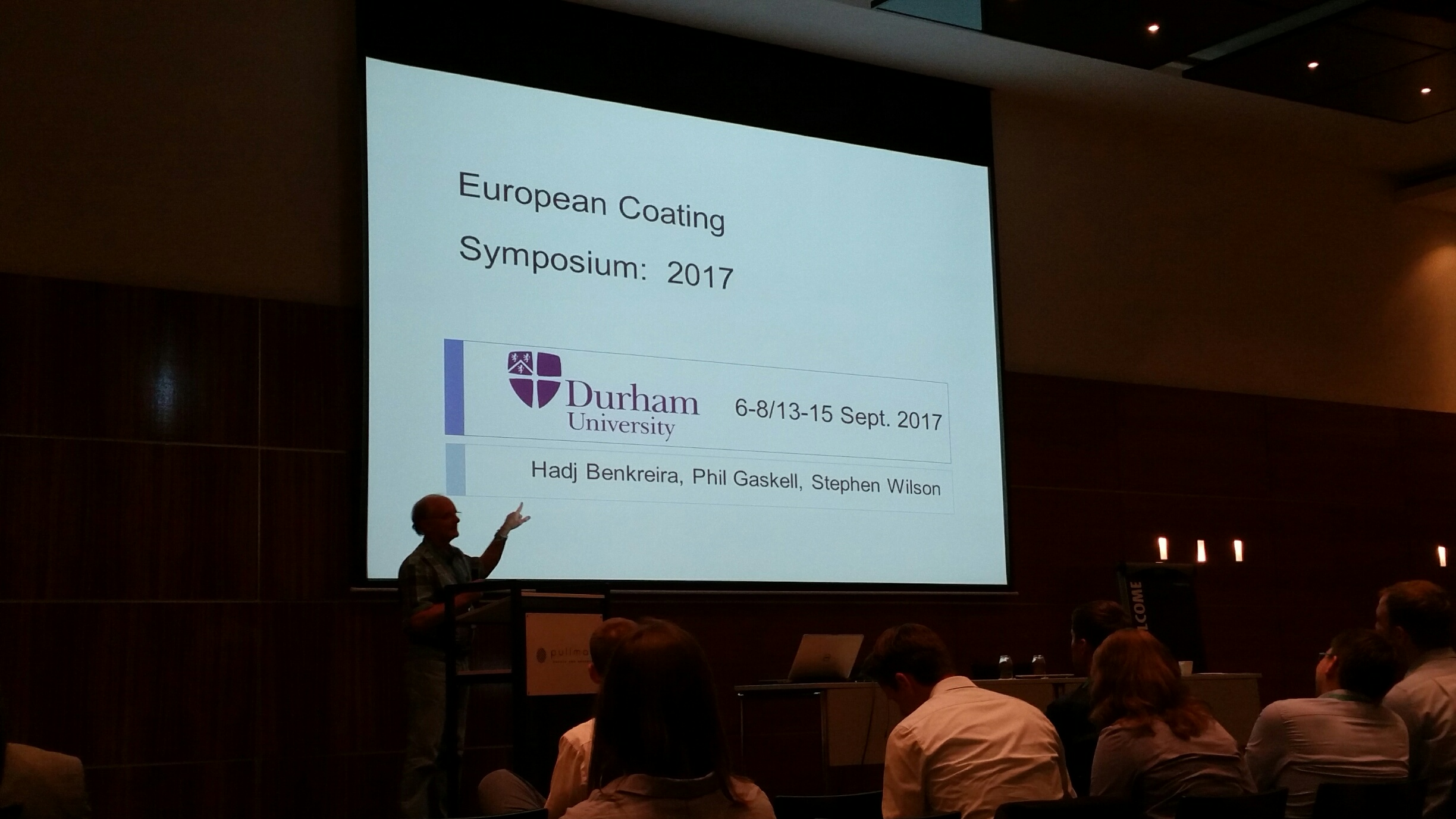 The ECS 2017 will take place at Durham University